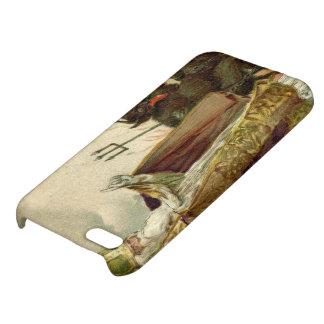 St Nicholas Krampus Pitchfork Priest iPhone 5C Cases