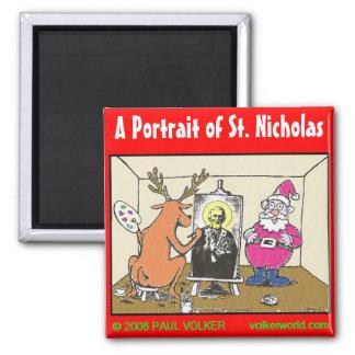 St. Nicholas magnet $3.00