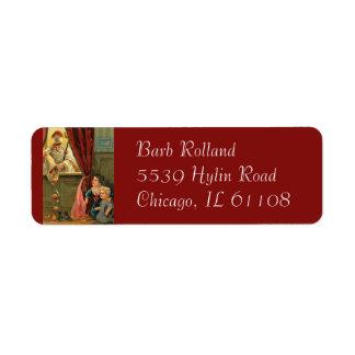 St. Nicholas of Myra Bishop Children Return Address Label