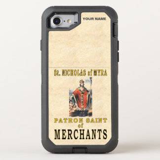 St. NICHOLAS of MYRA (Patron Saint of Merchants) OtterBox Defender iPhone 7 Case