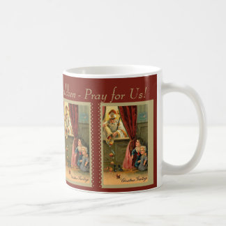 St. Nicholas of Myra with Children Coffee Mug