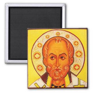 St Nicholas Orthodox Byzantine Icon magnet
