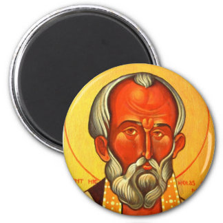 St. Nicholas Orthodox icon magnet