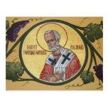 St. Nicholas the Wonder-Worker Prayer Card Postcard