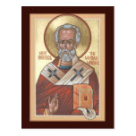 St. Nicholas the Wonderworker Prayer Card Postcard