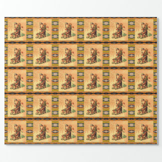 St Nick party wrap Wrapping Paper