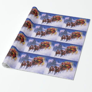 St. Nicks Express Wrapping Paper