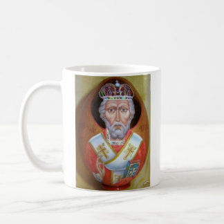 St. Nikolas, archbishop Mirlikian, Miracle-maker Coffee Mug