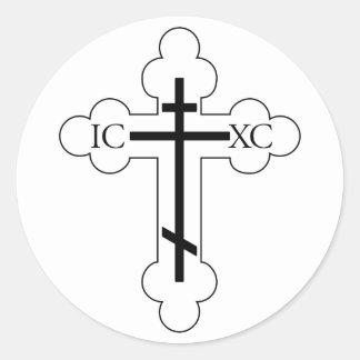 St. Olgas Cross sticker