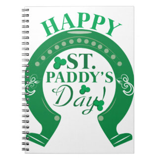 St. Paddy Day Spiral Note Book