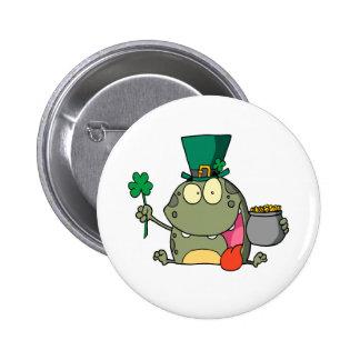 st paddy patty day froggy frog pin