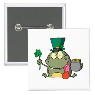 st paddy patty day froggy frog pins