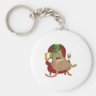 St Paddy s Day Fat Cat Keychains