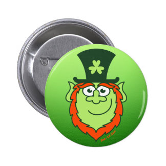 St Paddy s Day Leprechaun Smiling Buttons