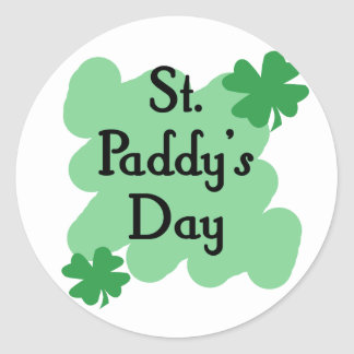 St Paddy s Day Stickers