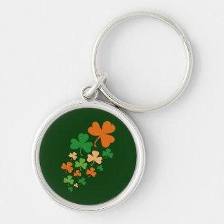 St Paddys Clovers - keychain