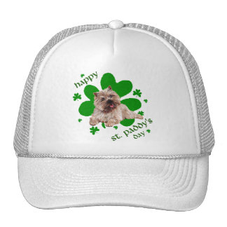 St Paddys Day Cairn Terrier Hats