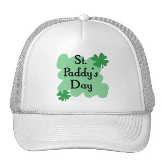 St Paddy's Day Mesh Hat