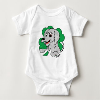 St Paddy's Day Irish Wolfhound Infant Creeper