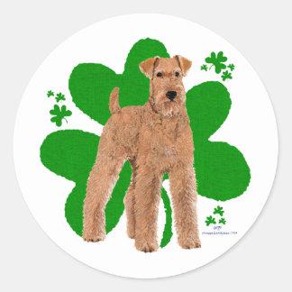 St Paddys Day Round Sticker