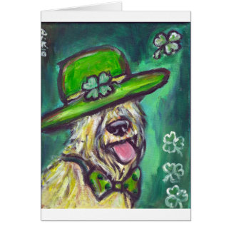 st paddys day sir wheaten card