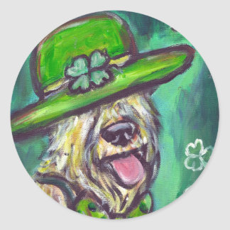 st paddys day sir wheaten stickers