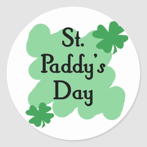 St Paddy's Day Stickers
