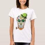 St Paddy's Day Sugar Skull T-Shirt