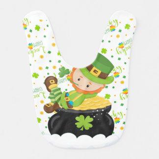 St Paddy's Leprechaun Bib