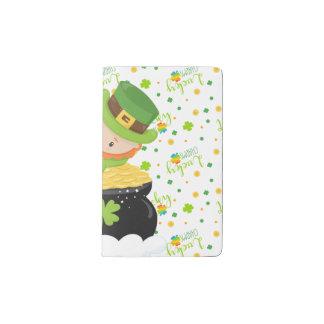 St Paddy's Leprechaun Pocket Moleskine Notebook
