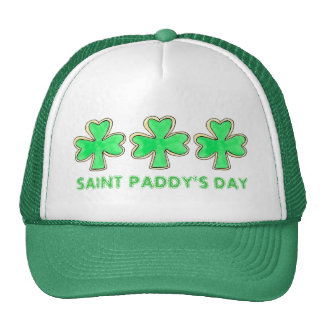 St. Paddy's Patrick's Day Shamrock Cookie Hat