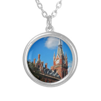 St. Pancras Silver Plated Necklace