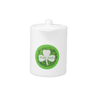 ST PATRIC+S DAY , IRISH LUCK, SHAMROCK LOGO