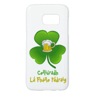 ST PATRIC+S DAY SHAMROCK +  BEER SAMSUNG 7