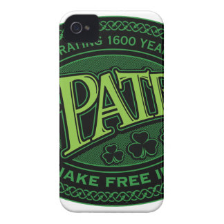 St. Patrick: Celebrating 1600 Years - Color iPhone 4 Case-Mate Case