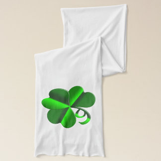 St Patrick Day. Clover element Scarf