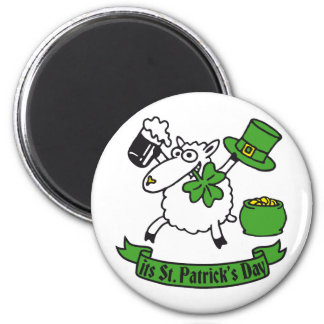 st Patrick day Refrigerator Magnet