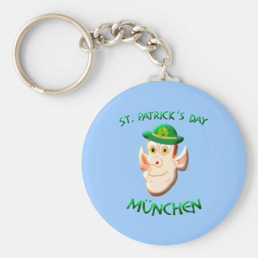 St. Patrick Day Munich Key Chain