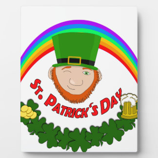 St. Patrick Display Plaques