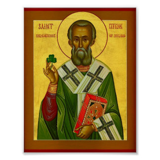 St. Patrick Enlightener of Ireland Poster
