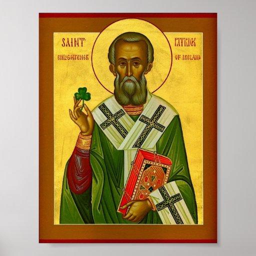 St. Patrick Enlightener of Ireland Poster