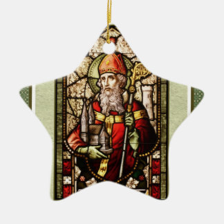 St. Patrick Irish Blessing Star Ornament