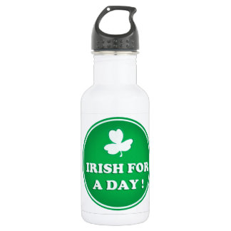 ST PATRICK IRISH WATER BOTTLE, IRISH FOR A DAY 532 ML WATER BOTTLE