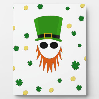 St. Patrick pattern Photo Plaques