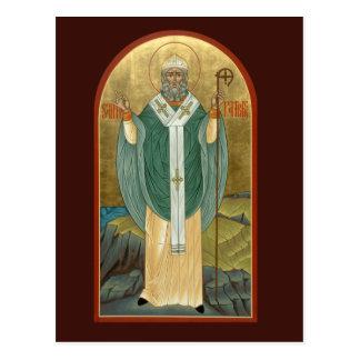 St. Patrick Prayer Card Postcard