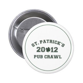 St Patrick s 2012 Pub Crawl Button