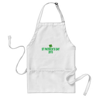 st patrick´s day 2015 T-Shirts '.png Standard Apron