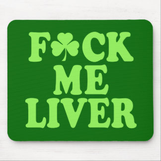 St Patrick s Day Alcohol Drinking Mouse Pad
