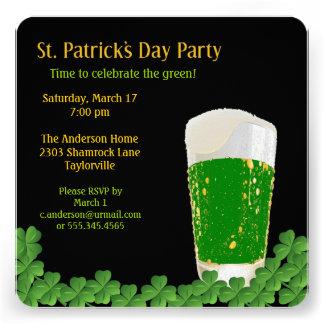 St Patrick s Day Beer Invitation