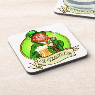 St Patrick s Day Beverage Coaster